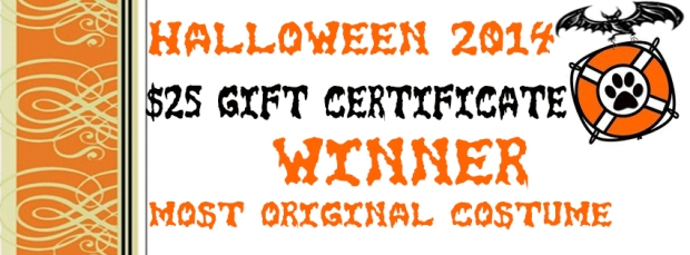 SALTY DOG HALLOWEEN BANNER original